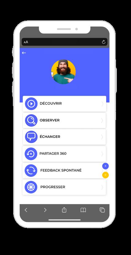 application-feedback-ciblé